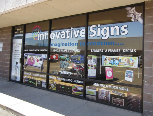 Innovative Signs of Tucson storefront