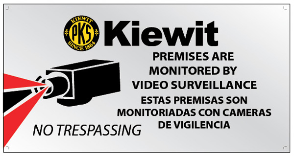Kiewit Signage - Innovative Signs of Tucson | Innovative