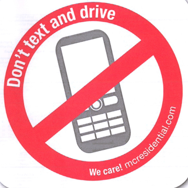 Don T Text And Drive Stickers Innovative Signs Of Tucson