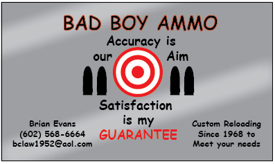 Badboy Ammo Business Cards Innovative Signs Of Tucson Innovative
