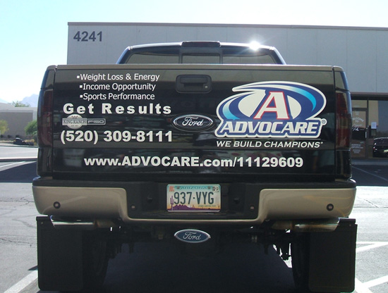 Advocare Car Decal Stickers