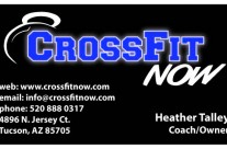 Business Cards for CrossFitNow