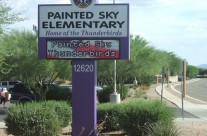 Painted Sky Elementary Electronic Display Sign