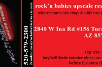 Business Card for Rock'n Babies