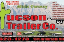 Business Cards for Tucson Trailer