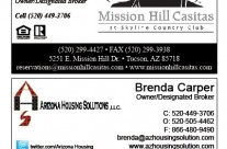 Business Cards AZ Housing Solutions