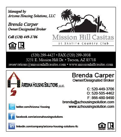 Business cards az housing solutions innovative signs of tucson about me colourmoves