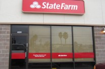 State Farm Window Graphics Install