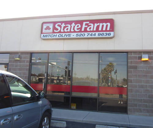 State Farm Window Graphics Install Innovative Signs Of