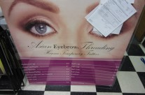 Asian Eyebrow Vinyl Removal and Install