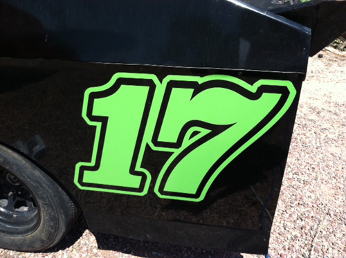 Racecar Vinyl Numbers Innovative Signs Of Tucson Innovative