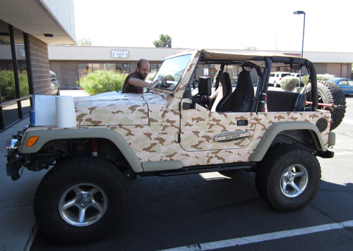 Jeep Wrap With Camo Innovative Signs Of Tucson