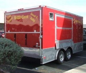Kettle Corn Trailer Graphics Innovative Signs Of Tucson
