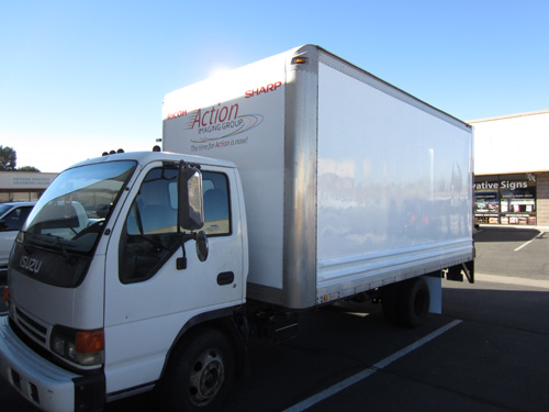 Before & After - Action Imaging Box Truck Wrap ...
