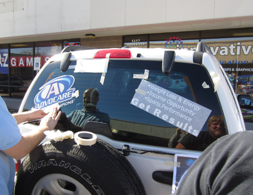 Advocare Window Graphics Innovative Signs Of Tucson Innovative - Advocare car decal stickers