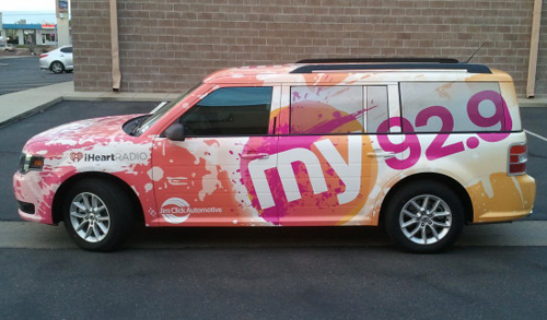 My 92 9 Radio Station Vehicle Wrap Innovative Signs Of