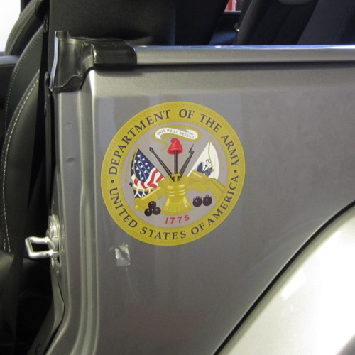 Army Strong Oscar Mike Jeep Vehicle Decals Innovative