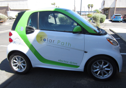 Smart Car Vehicle Wraps Tucson
