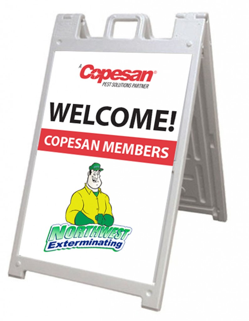 A Frame Signs For Nw Exterminating Innovative Signs Of