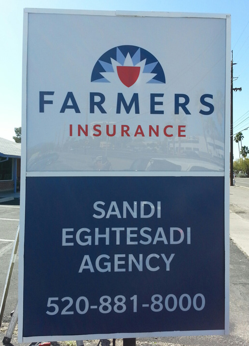 Farmers Insurance Pole Sign Side 2 Innovative Signs Of Tucson