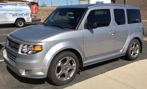 Honda Element Before Graphics Innovative Signs Of Tucson