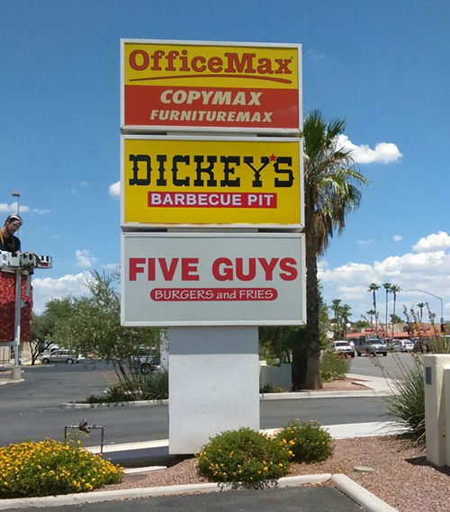 Dickey S Bbq Signage Innovative Signs Of Tucson