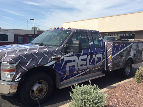 Full wrap for RECO Tucson Vehicle Wraps