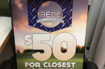 RECO Golf Tournament Signs