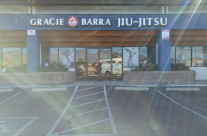 Gracie Barra Sign Install