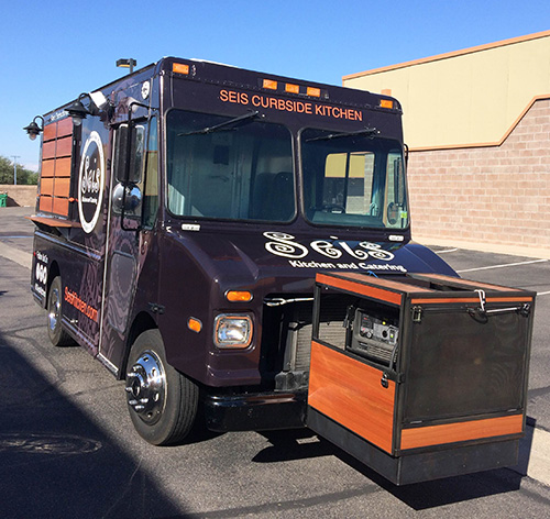 Seis Kitchen Food Truck Wrap - Innovative Signs of Tucson ...