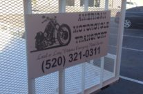 Vinyl decals for American Motorcycle Transport