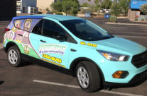 NW Exterminating Vehicle Wrap