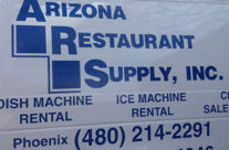 AZ Restaurant Supply Van