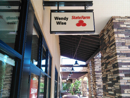 Wendy Wise Sign Installation Innovative Signs Of Tucson